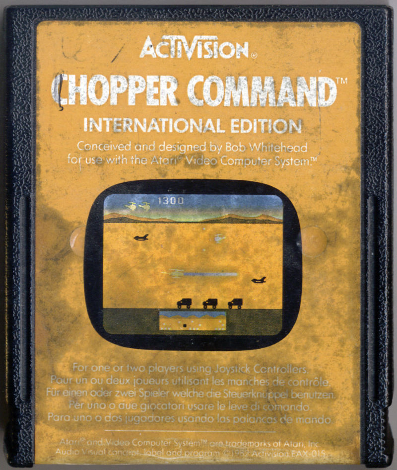 Chopper Command Atari 2600 Media