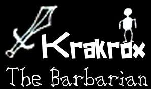 Krakrox the Barbarian Browser Front Cover