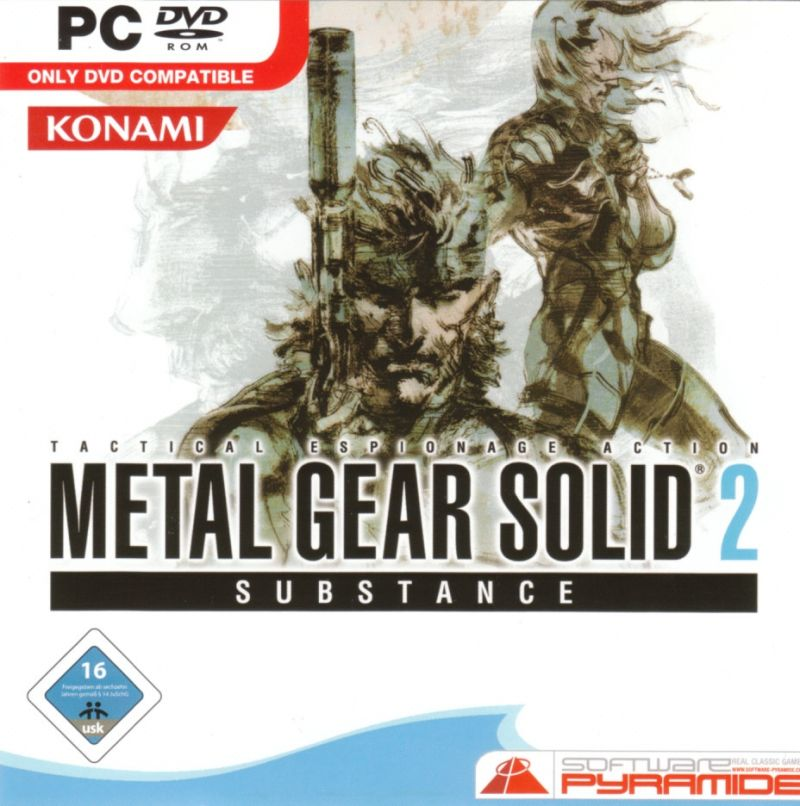 Metal Gear Solid 2: Substance (2017) Android box cover art - MobyGames