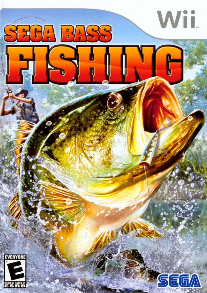 SEGA Bass Fishing Wii Front Cover