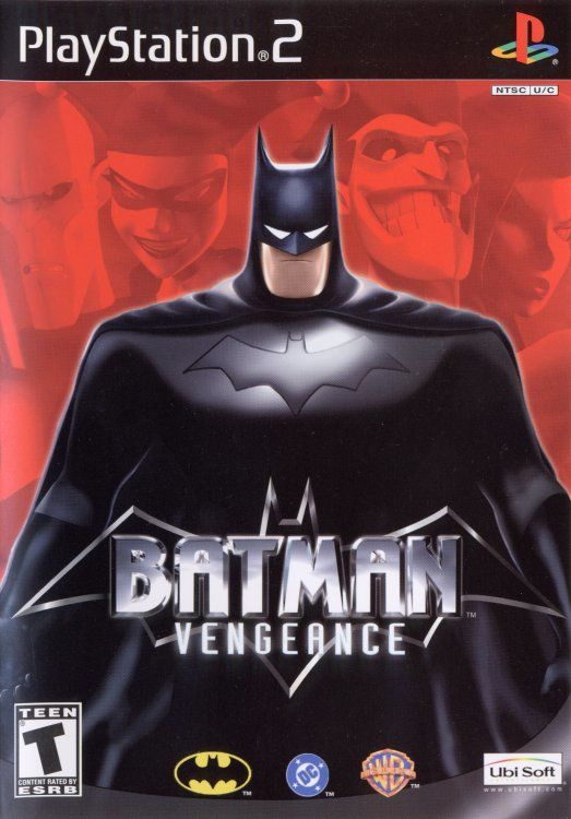 Batman: Vengeance PlayStation 2 Front Cover