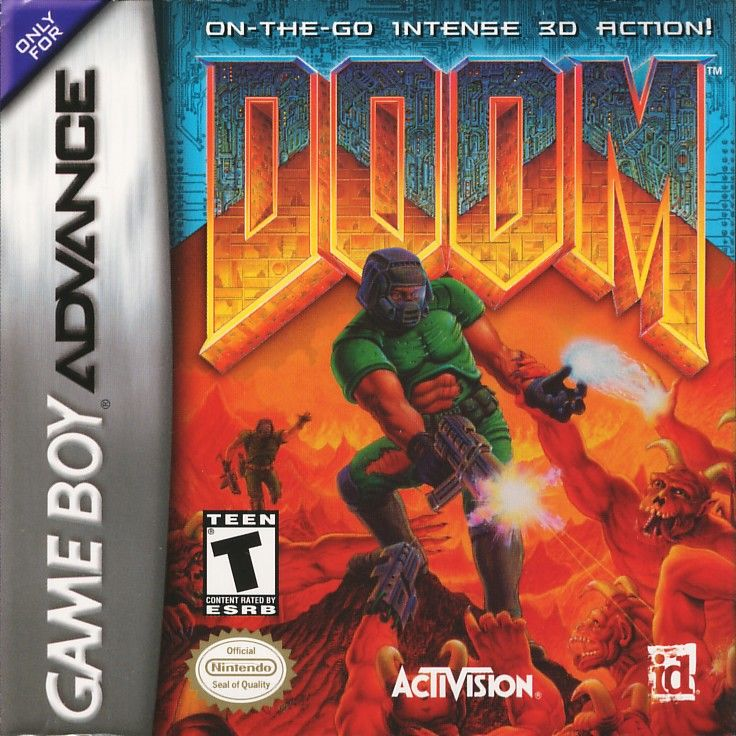 Doom For Game Boy Advance 2001 Mobygames