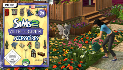 The Sims 2: Mansion U0026#x26; Garden Stuff Windows Front Cover