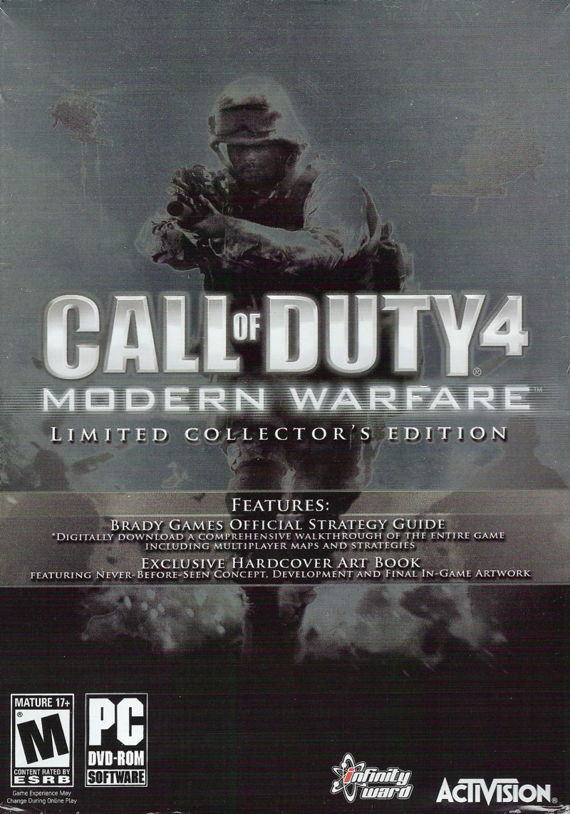 Call of Duty 4: Modern Warfare (Limited Collector's Edition) Windows Front Cover