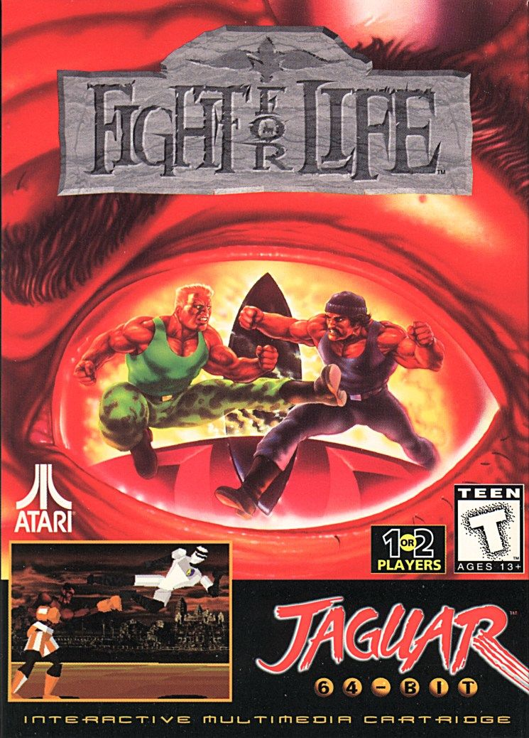 Fight for Life Jaguar Front Cover