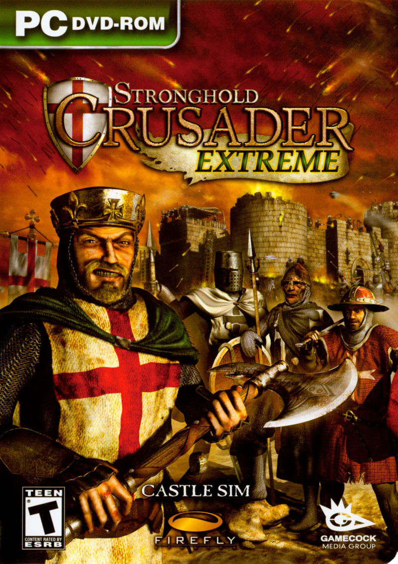 Stronghold Crusader Extreme Windows Front Cover