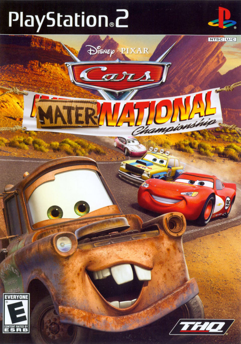 Disney•Pixar Cars: Mater-National Championship PlayStation 2 Front Cover