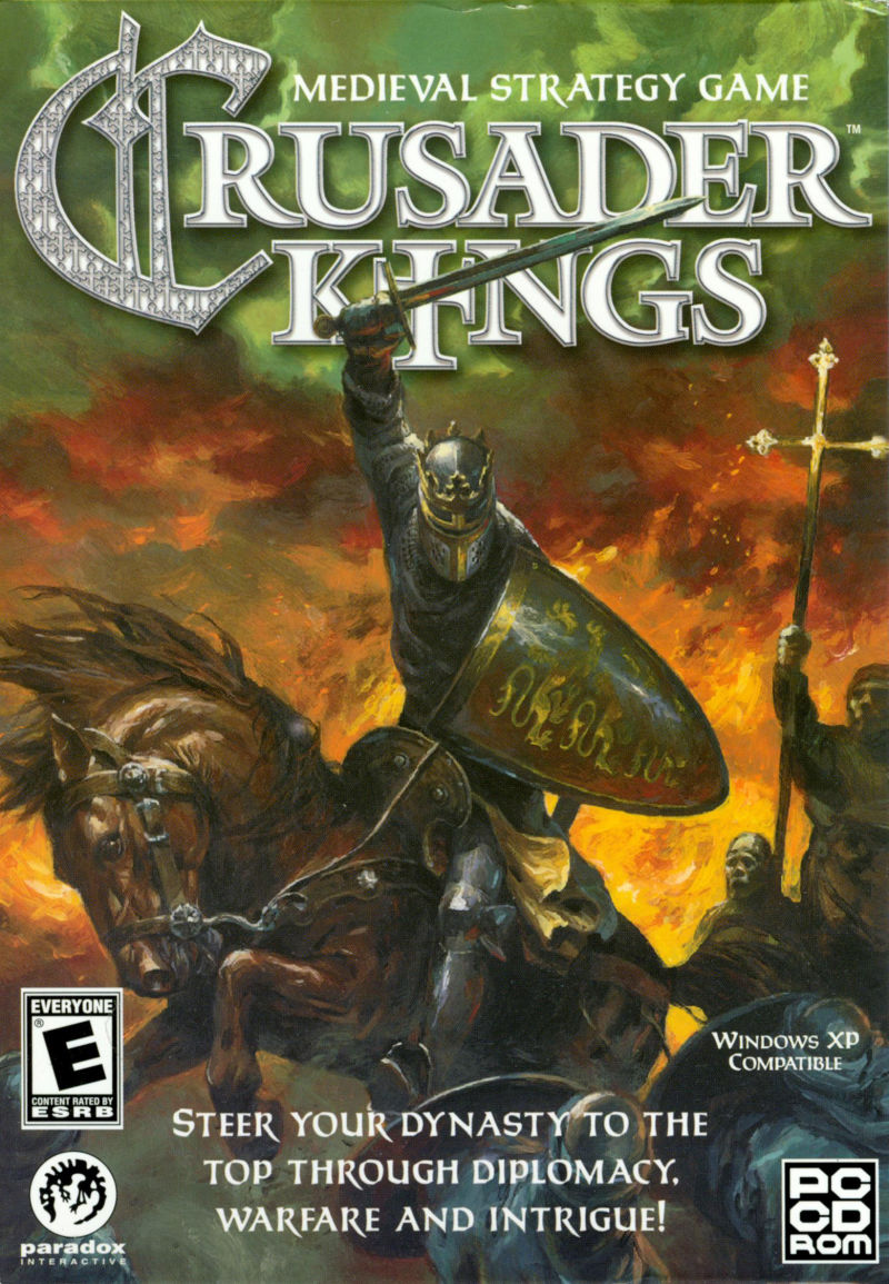 Crusader Kings Windows Front Cover