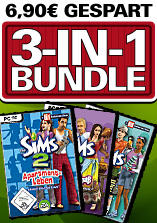 Die Sims 2 Add-On Bundle Windows Front Cover