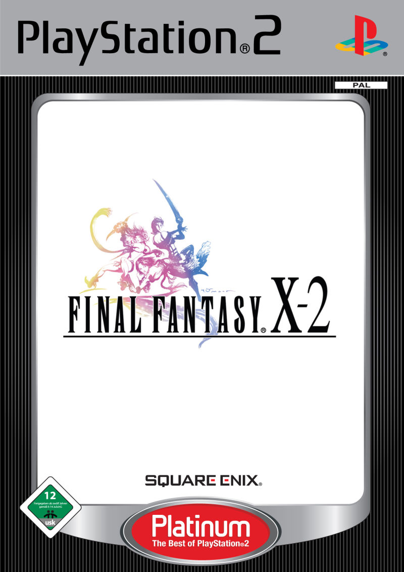 Final Fantasy X-2 PlayStation 2 Front Cover
