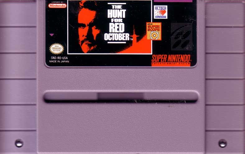 The Hunt for Red October SNES Media