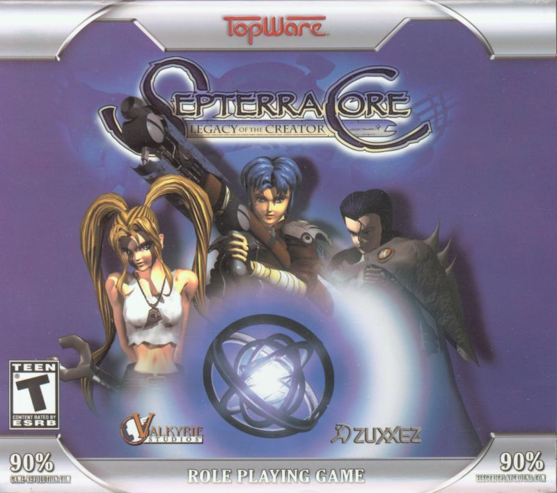 Septerra Core: Legacy of the Creator Windows Other Jewel Case - Front