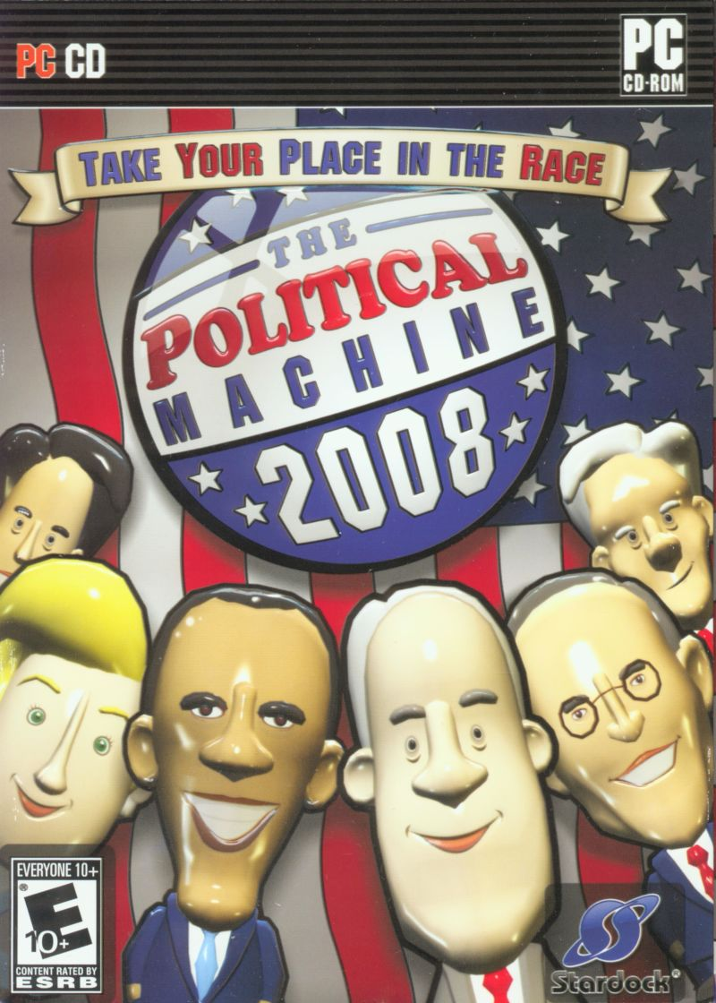 The Political Machine 2008 Windows Front Cover