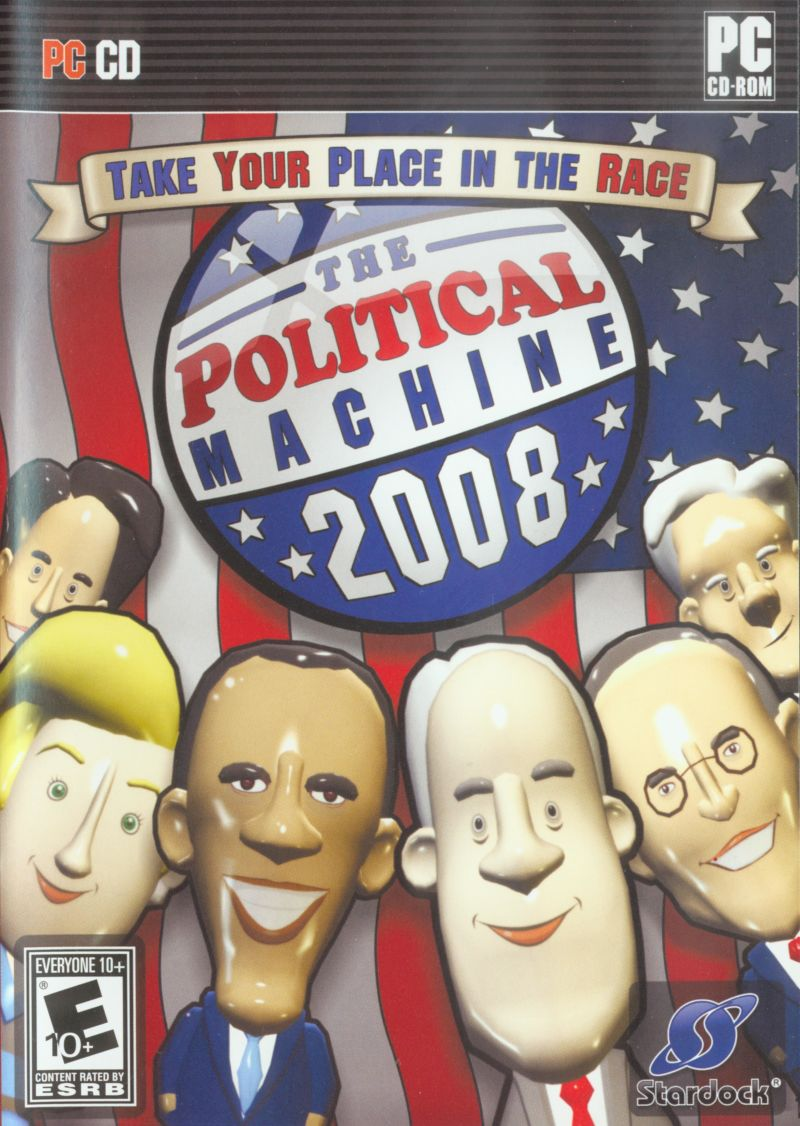 The Political Machine 2008 Windows Other Slip Case - Front