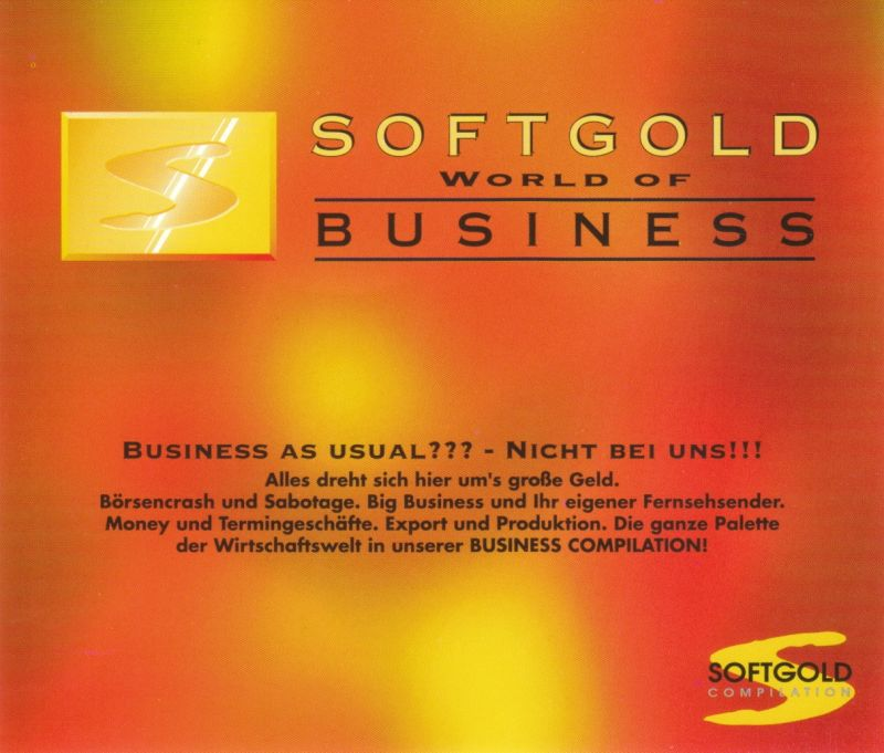 World of Business DOS Other Jewel Case - Back