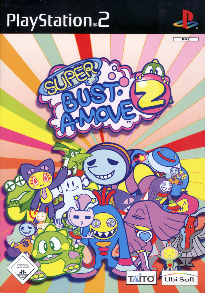 Super Bust-A-Move 2 PlayStation 2 Front Cover