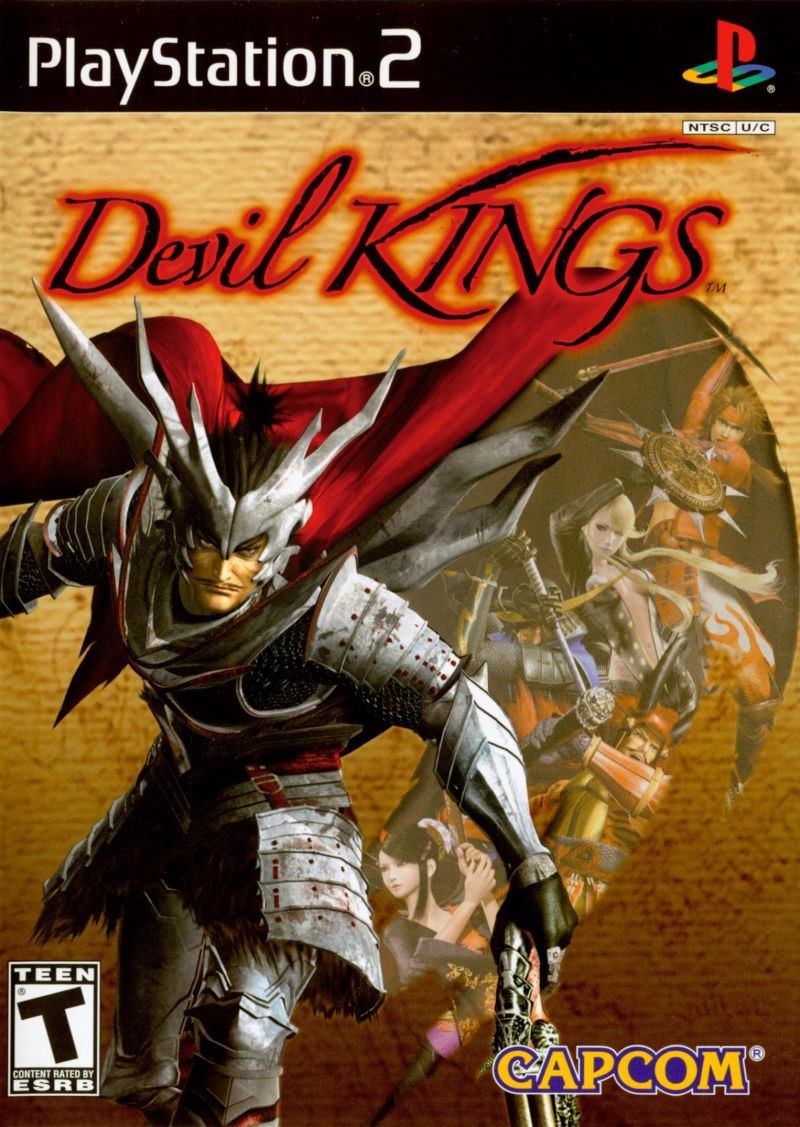 Devil Kings PlayStation 2 Front Cover