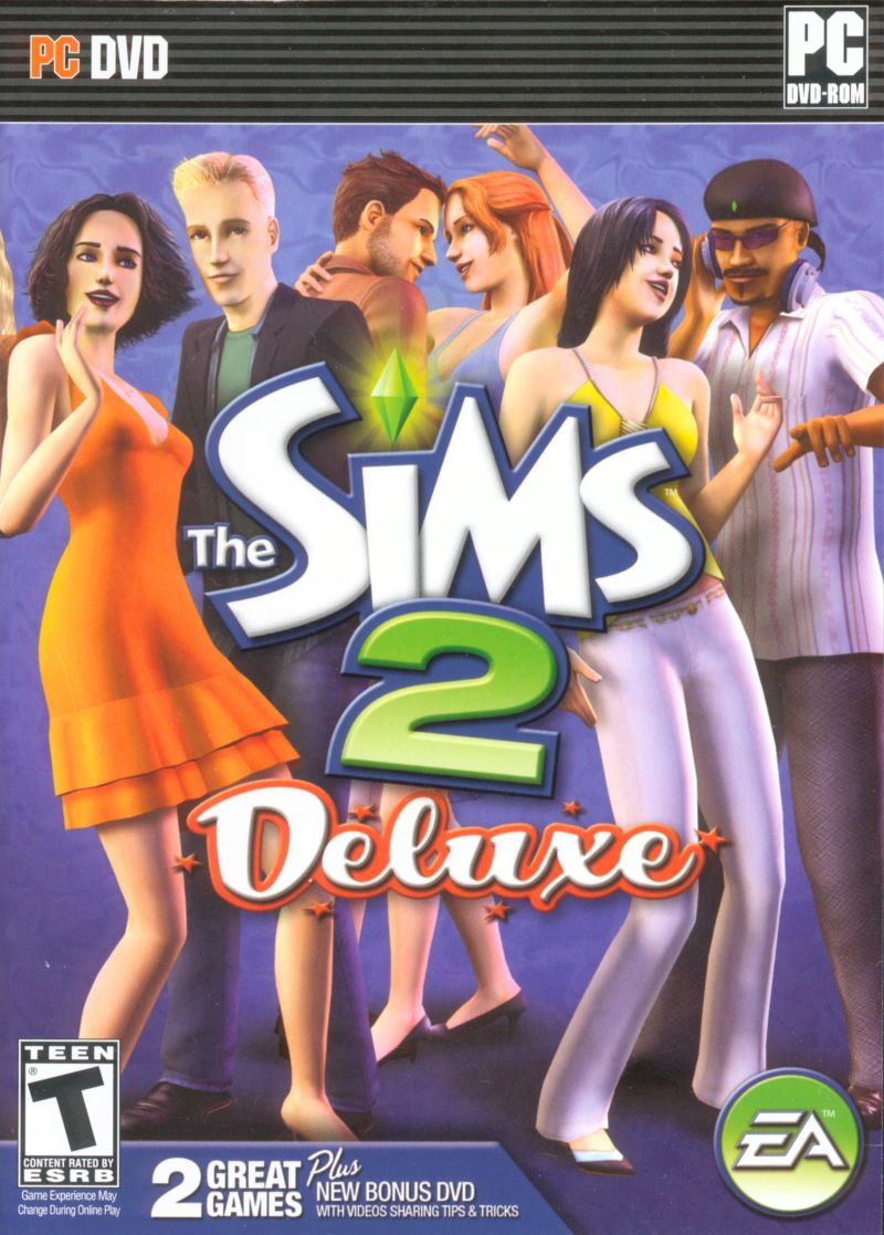The Sims 2: Deluxe (2007) Windows box cover art - MobyGames
