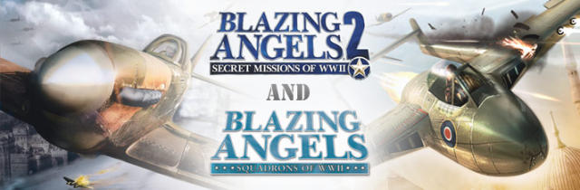 Blazing Angels Pack  Windows Front Cover