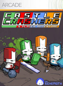 Castle Crashers Xbox 360 Front Cover
