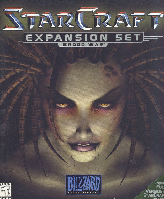 StarCraft: Brood War Macintosh Front Cover