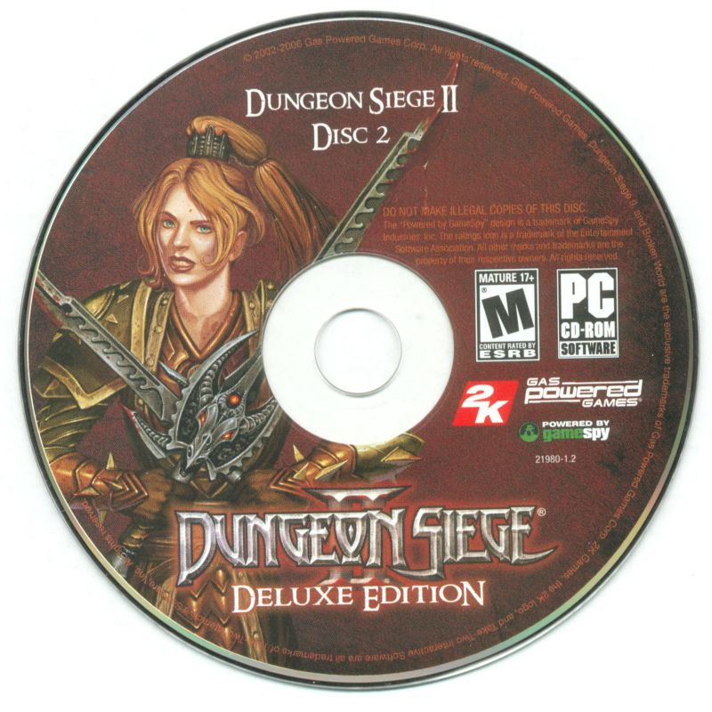 Dungeon Siege II: Deluxe Edition Windows Media Disc 2