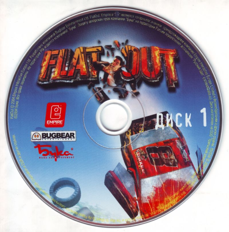 FlatOut Windows Media Disc 1/2