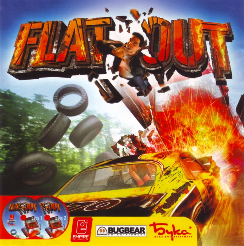 FlatOut Windows Front Cover