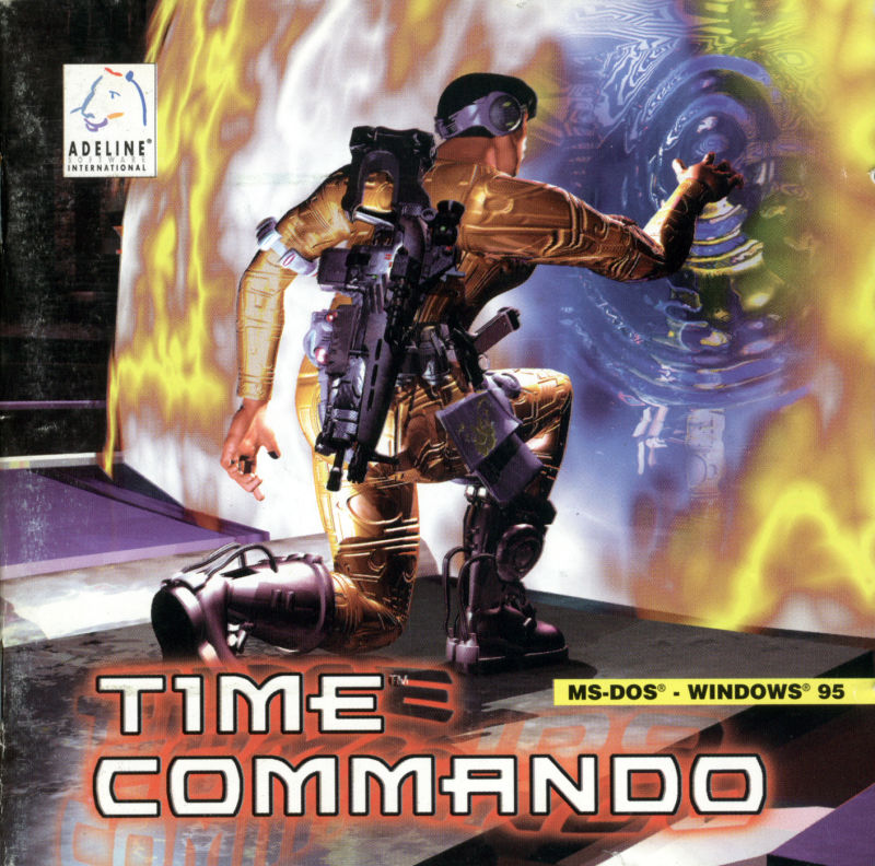 Time Commando DOS Other Jewel Case (Front)