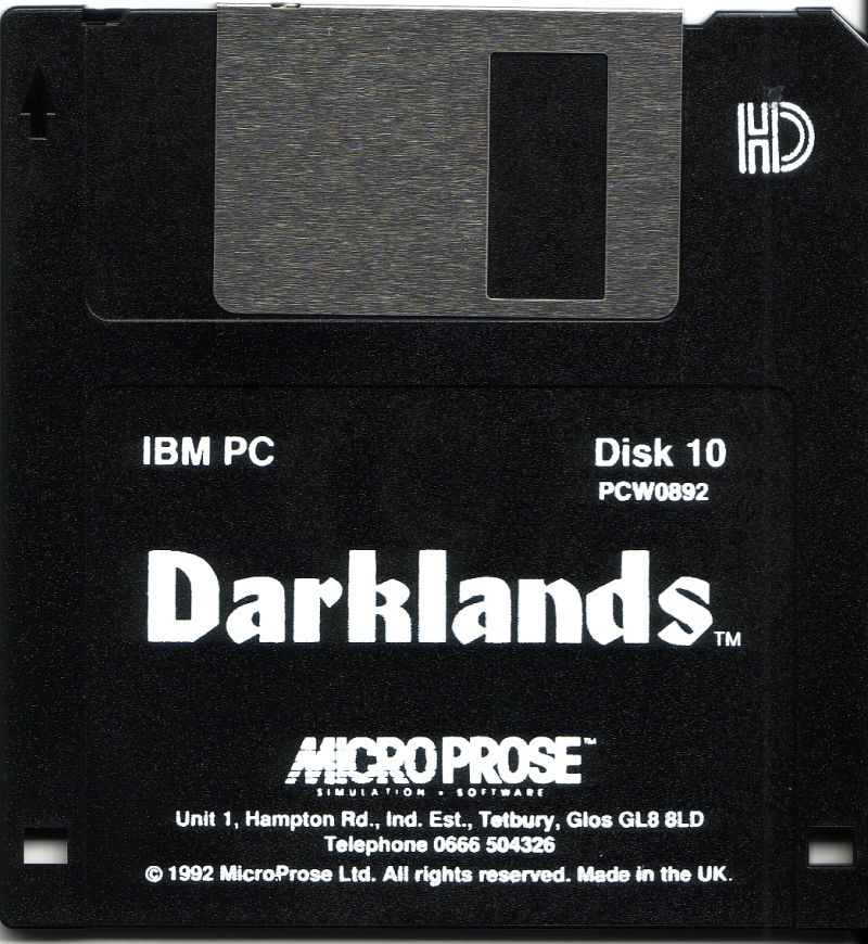 Darklands DOS Media Disk 10/10