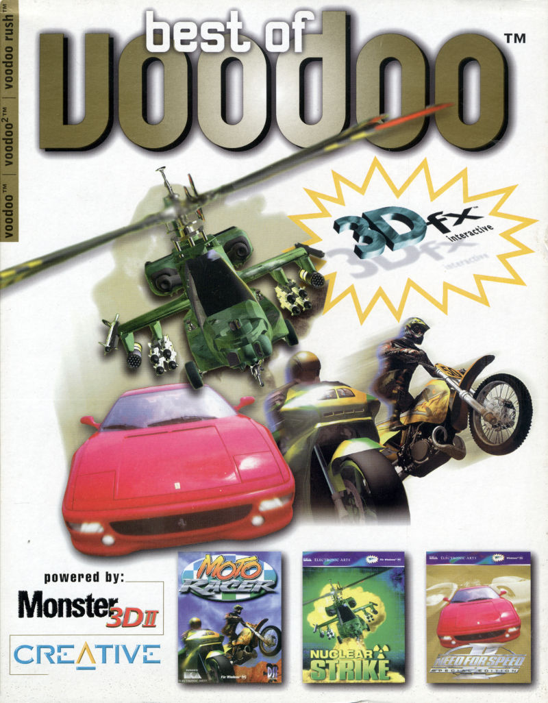 Best of Voodoo Windows Front Cover