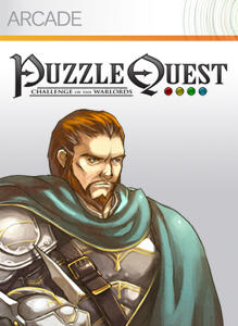 Puzzle Quest: Challenge of the Warlords Xbox 360 Front Cover