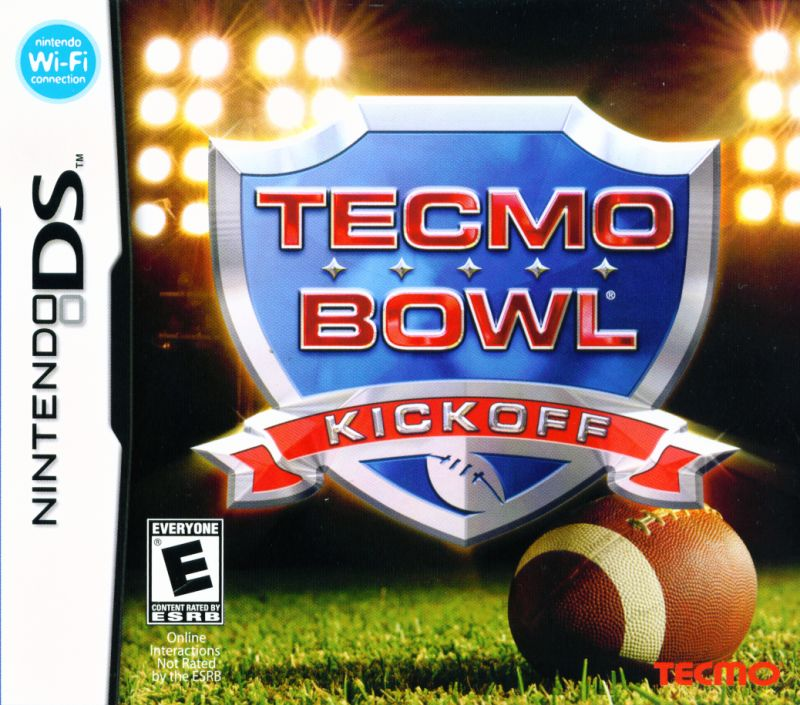 Tecmo Bowl Kickoff Nintendo DS Front Cover
