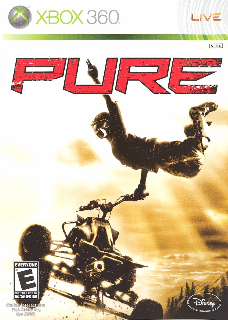 Pure for Xbox 360 (2008) MobyRank - MobyGamesXbox 360 Game Covers