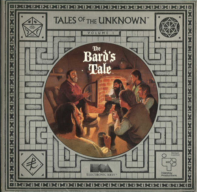 Tales of the Unknown: Volume I - The Bard's Tale DOS Front Cover