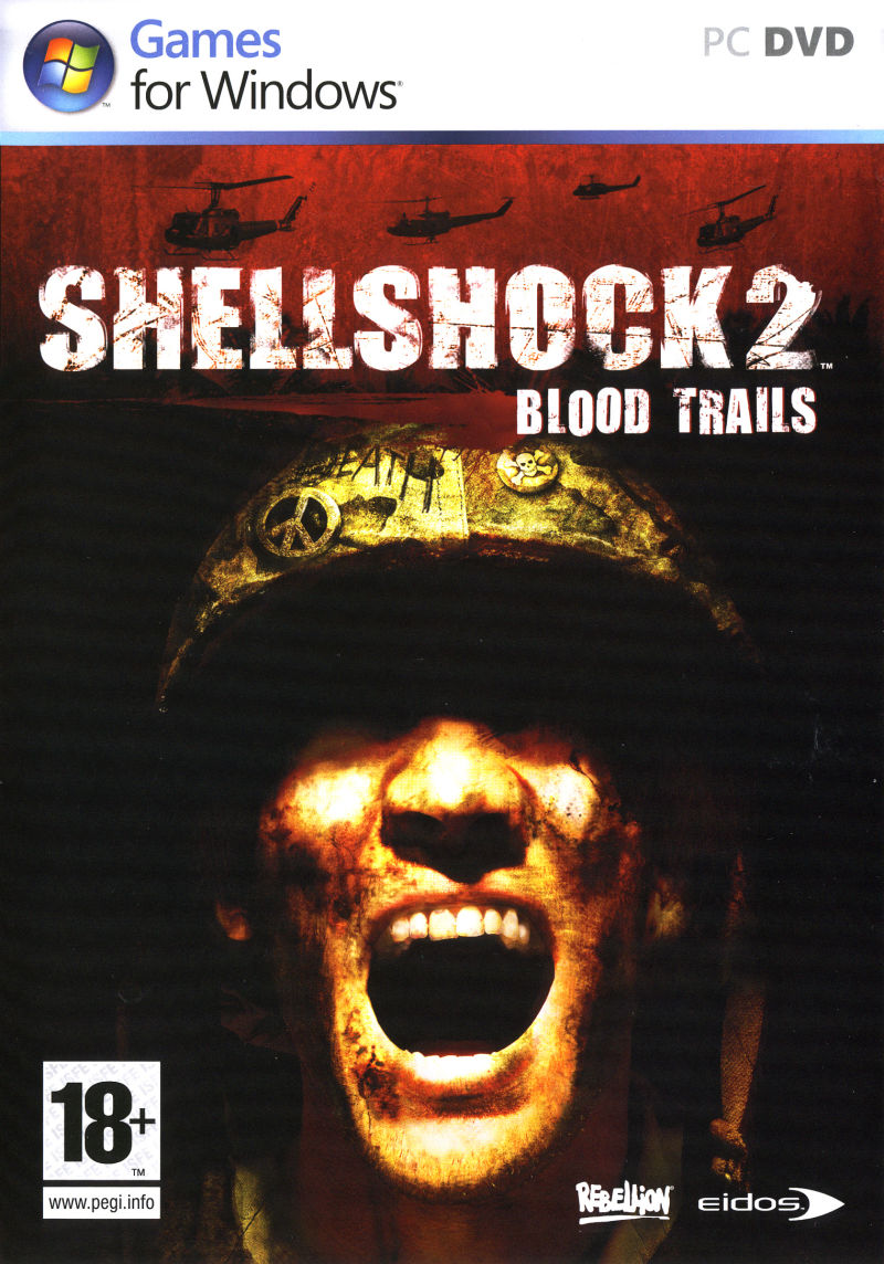 Shellshock 2: Blood Trails Windows Front Cover