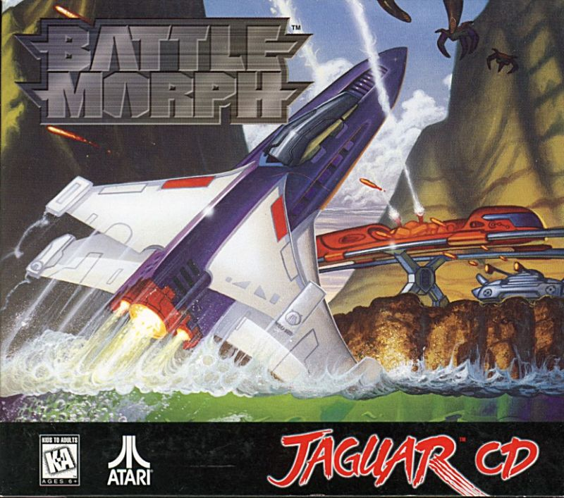 Battlemorph Jaguar Front Cover