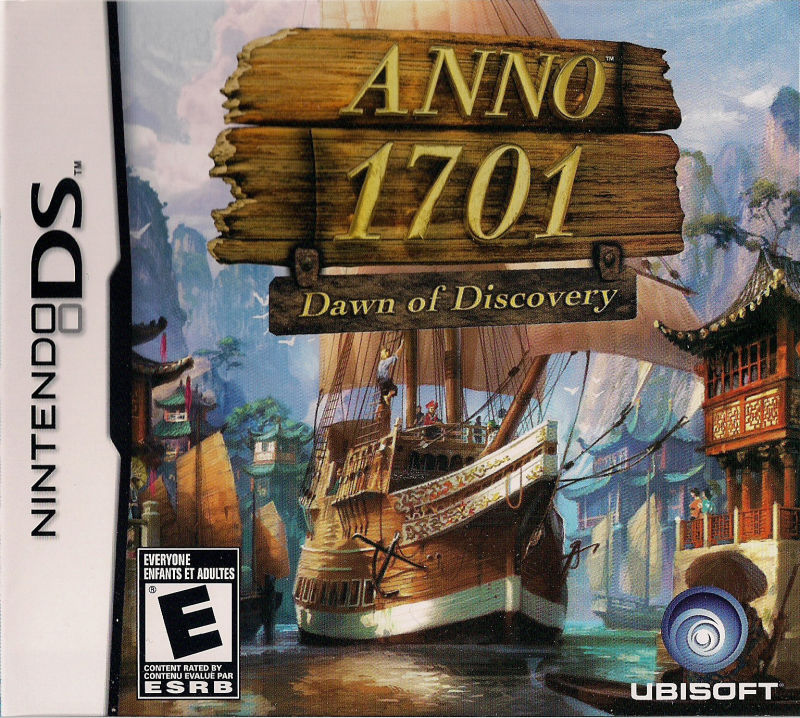 Anno 1701: Dawn of Discovery Nintendo DS Front Cover