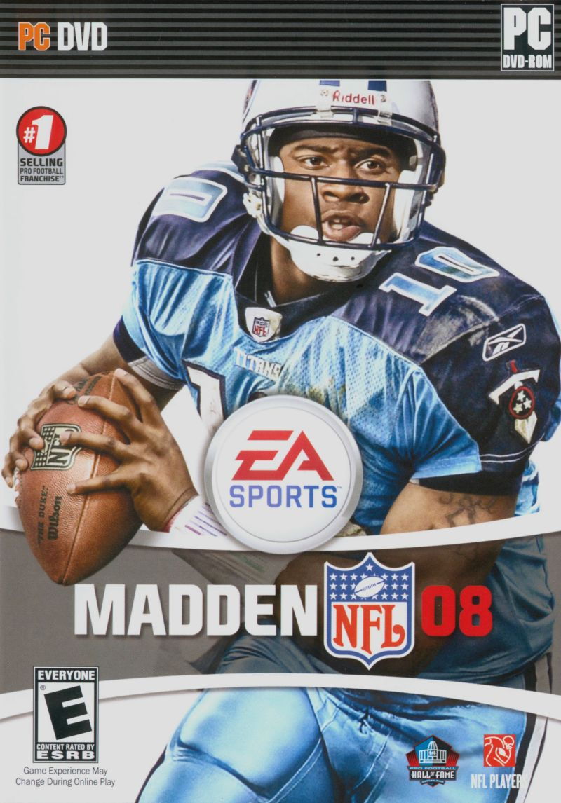Madden NFL 08 Windows Front Cover