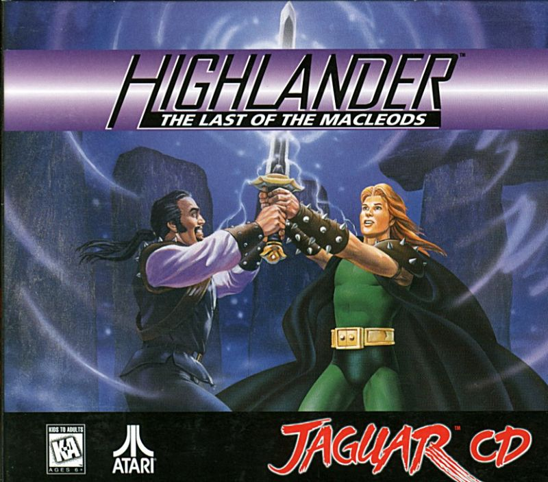 Highlander: The Last of the MacLeods Jaguar Front Cover