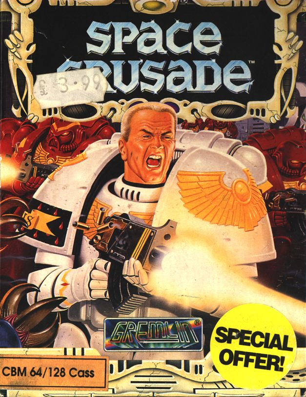 Space Crusade Commodore 64 Front Cover