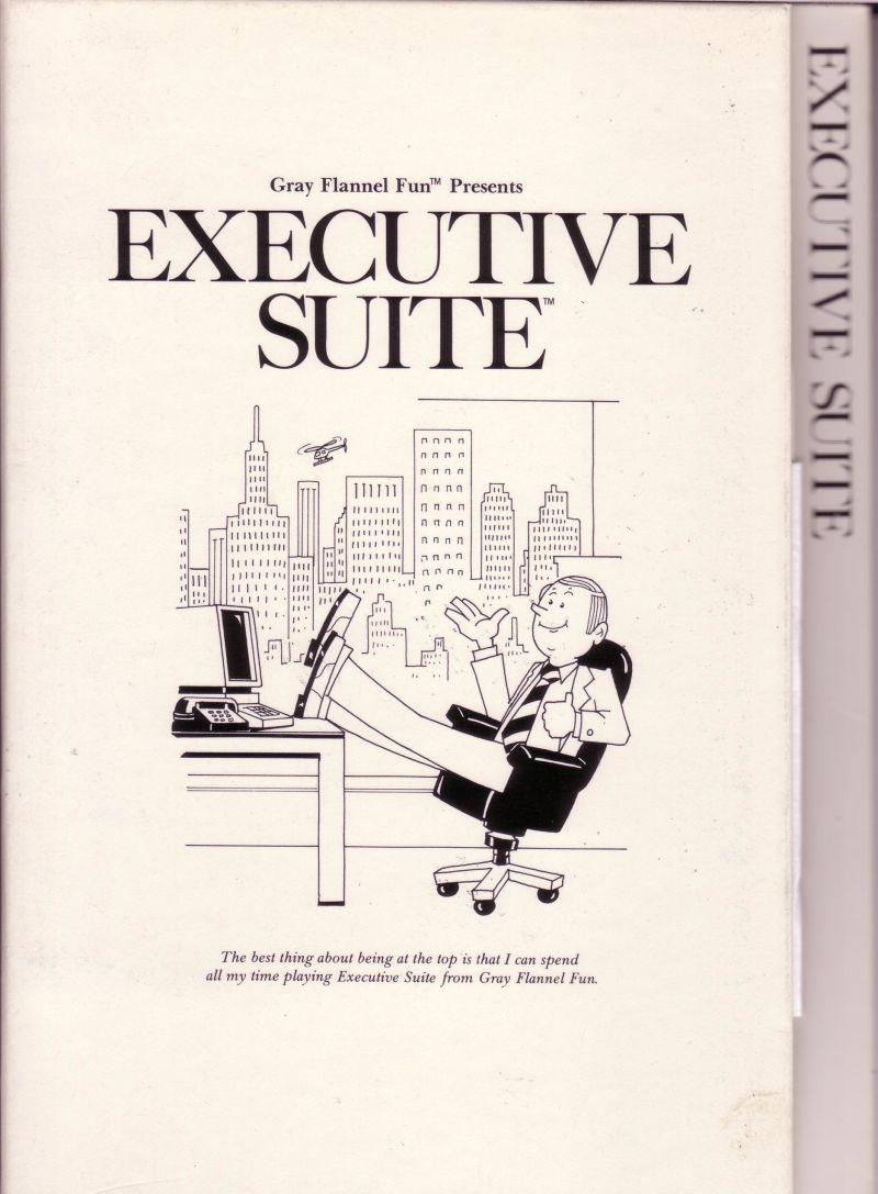 Executive Suite PC Booter Front Cover