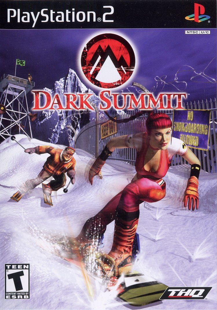 Dark Summit PlayStation 2 Front Cover