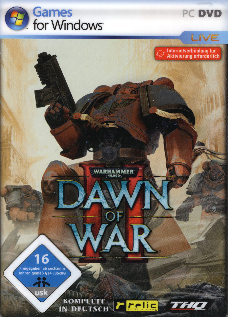 Warhammer 40,000: Dawn of War II (Limited Steelbook Edition) Windows Front Cover