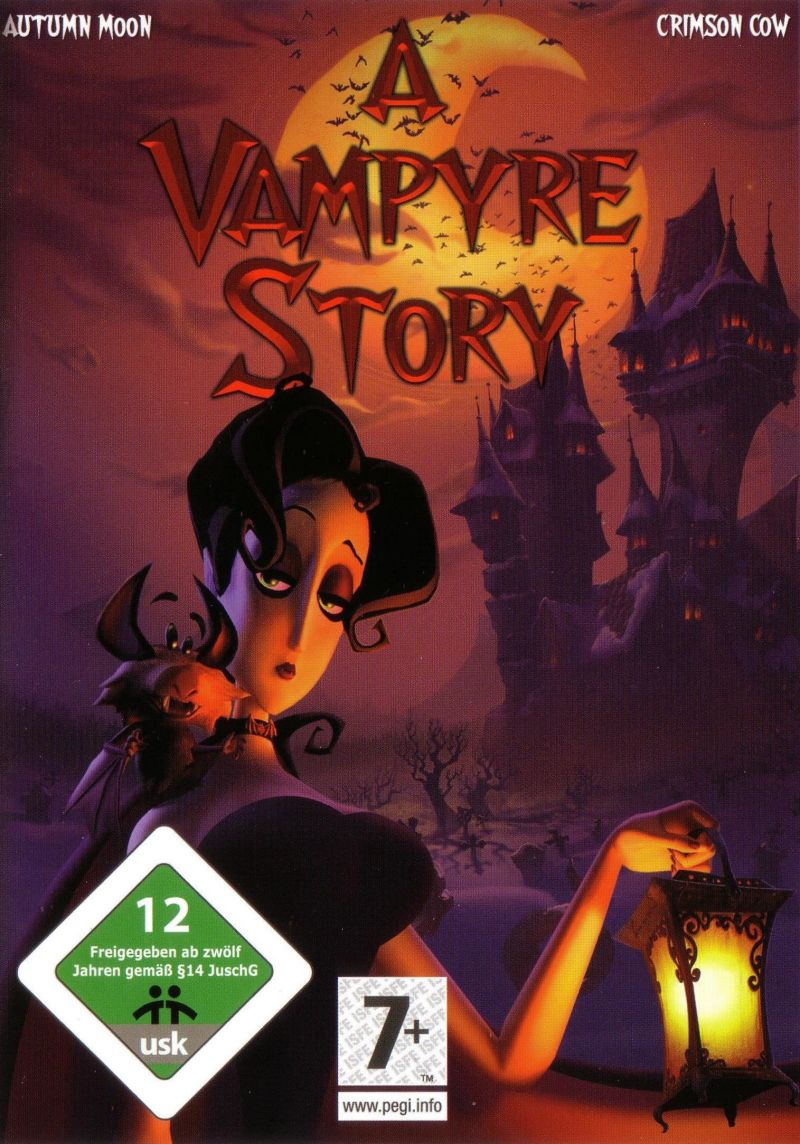 A Vampyre Story Windows Other Keep Case - Front