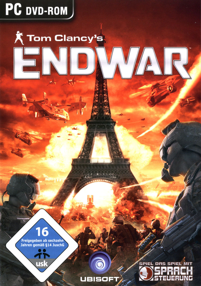 Tom Clancy's EndWar (Deluxe Edition) Windows Front Cover