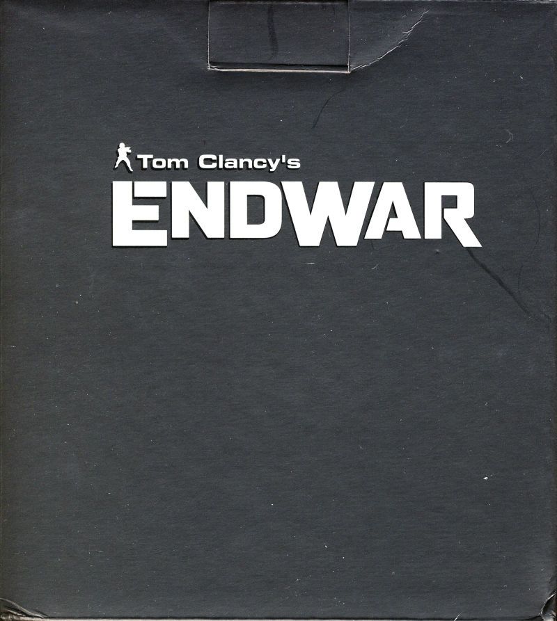 Tom Clancy's EndWar (Deluxe Edition) Windows Other Resin Bust Box - Front
