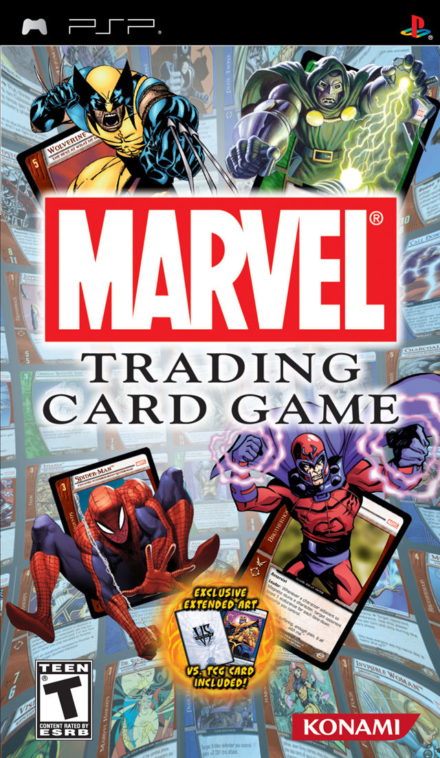 Marvel Trading Card Game For Nintendo Ds 2007 Mobygames