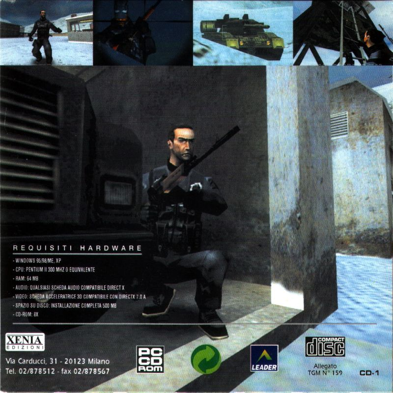 Project IGI: I'm Going In (2000) Windows box cover art
