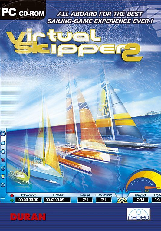 Virtual Skipper 2 Windows Front Cover